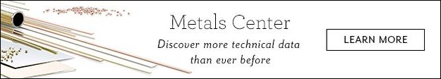 Metals Center - Discover more technical data than ever before
