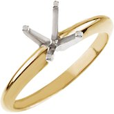 4-Prong Light Solitaire Engagement Ring