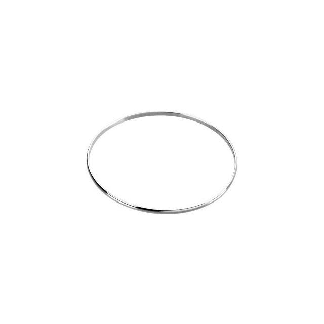 Sterling Silver 2.5 mm Bangle Bracelet