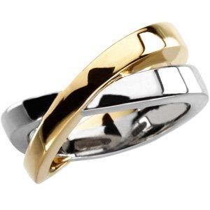14K Yellow Fashion Ring