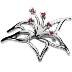 Kvetinový Brooch Mounting