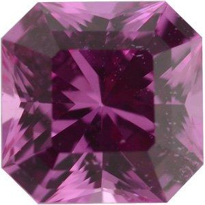 Sapphire Asscher 1.31 carat Pink Photo