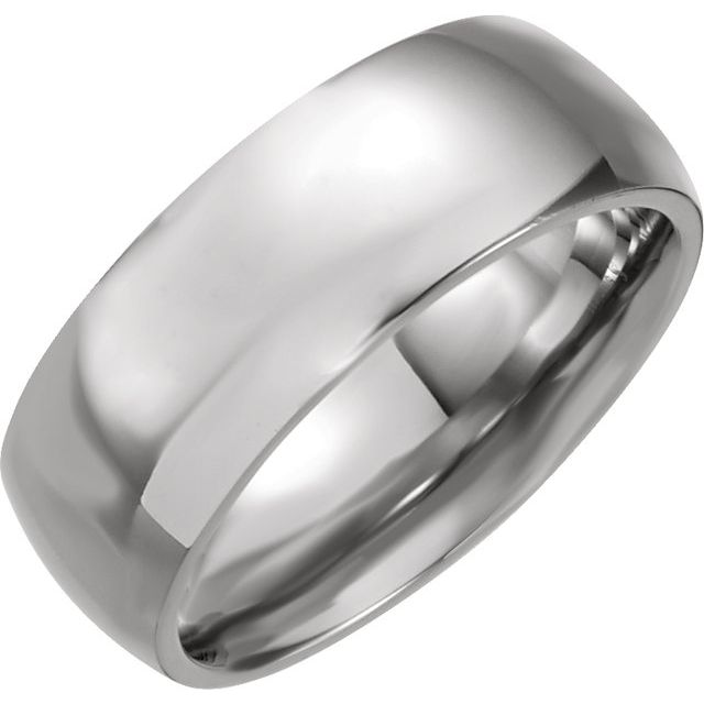 Stainless Steel 6 mm Ring Size 6