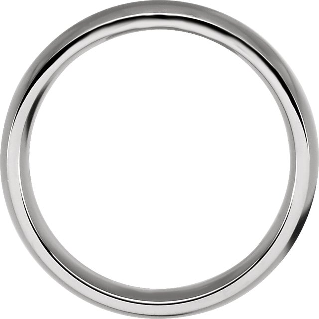 Stainless Steel 6 mm Ring Size 11