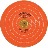 Grobet USA® Orange Buffing Wheels