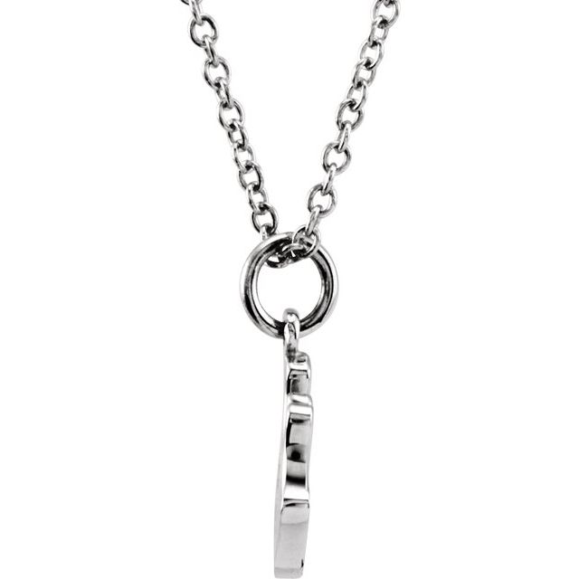 Sterling Silver Tiny Posh® Crown 16-18