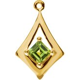 Accented Geometric Dangle
