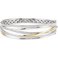 14K White & Yellow 1 CTW Diamond 8