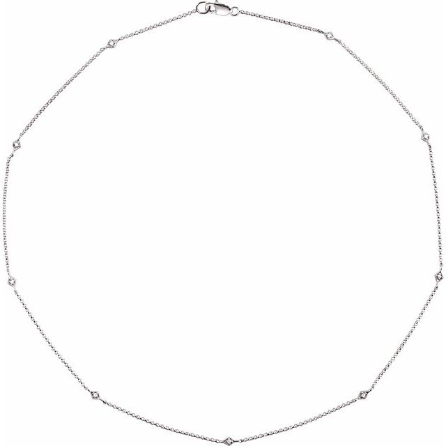 14K White 1/6 CTW Diamond 16