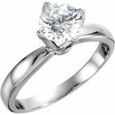 4-Prong Tulipset® Solitaire Engagement Ring