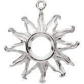 Accented Sun Dangle