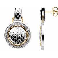 1/2 CTW Diamond Earrings
