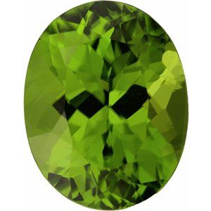 Peridot Oval 5.54 carat Green Photo