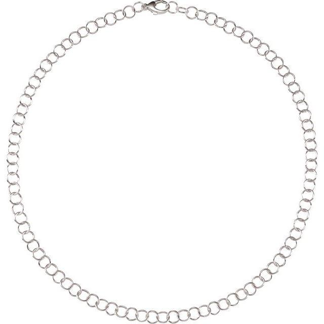 Sterling Silver 6.25 mm Link 16