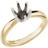 6-Prong Tall Solstice Solitaire® Engagement Ring