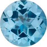 Round SWAROVSKI GEMSTONES™ Genuine Ice Blue Topaz