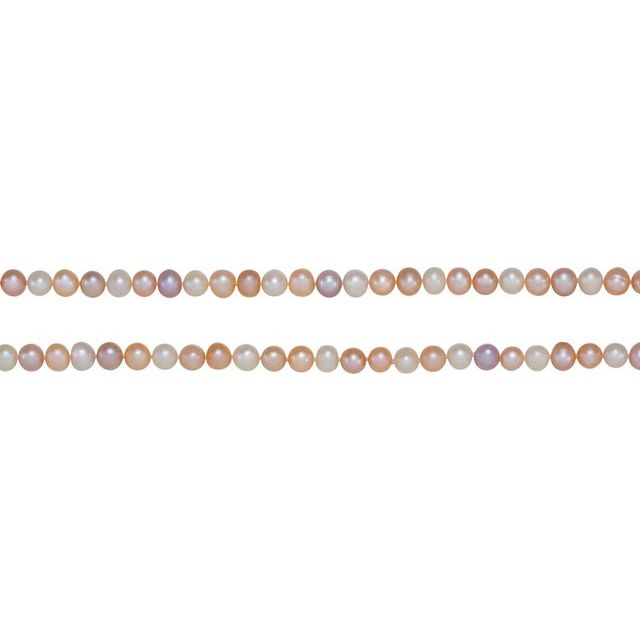 8-9 mm Multi-Color Freshwater Cultured Pearl 72