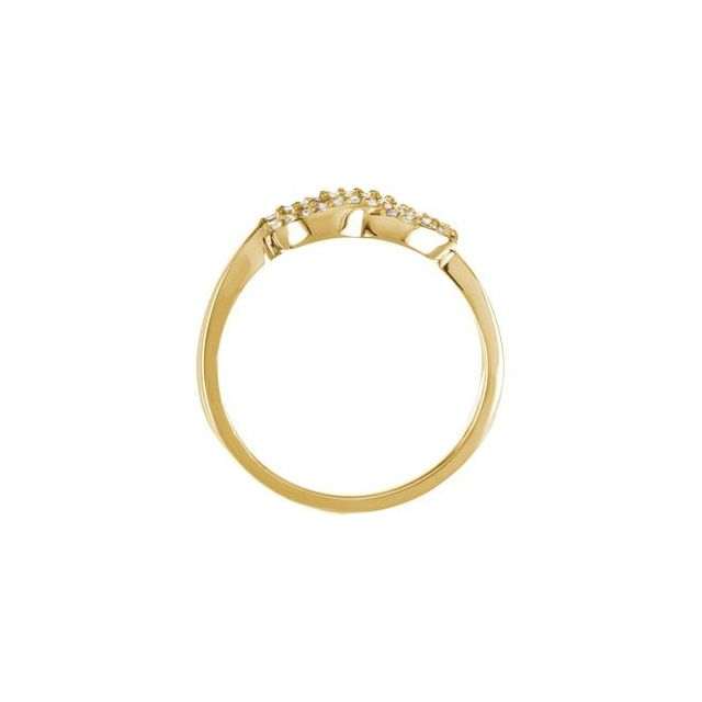 Diamond Knot Ring