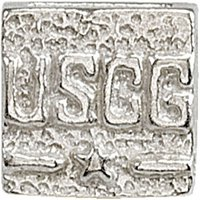 Sterling Silver USCG Spacer