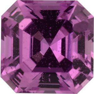Sapphire Asscher 1.16 carat Pink Photo