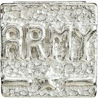 Sterling Silver Army Spacer