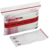 Minigrip® Red Line™ Write-on White Block Recyclable Bags (2 mil)