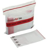 Minigrip® Red Line™ Write-on White Block Recyclable Bags (4 mil)