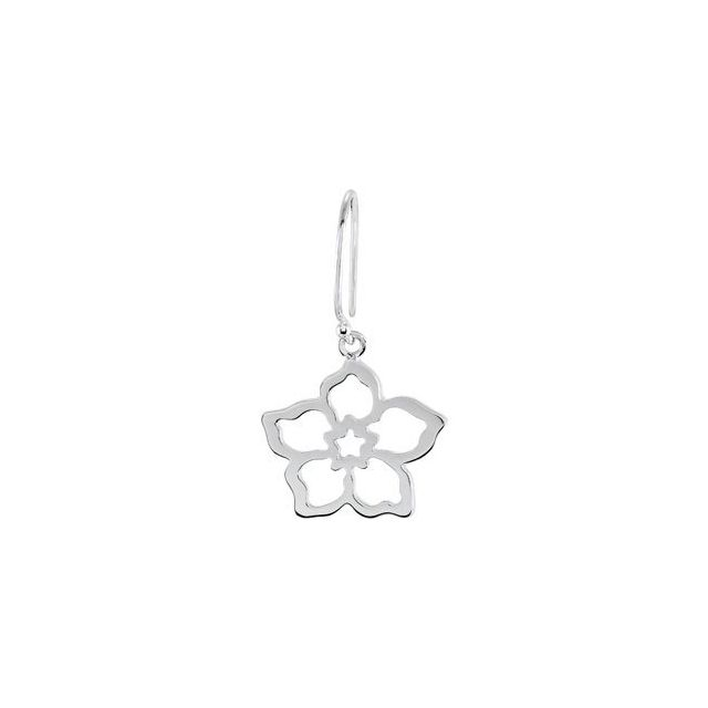 Forget Me Not Earring Mounting