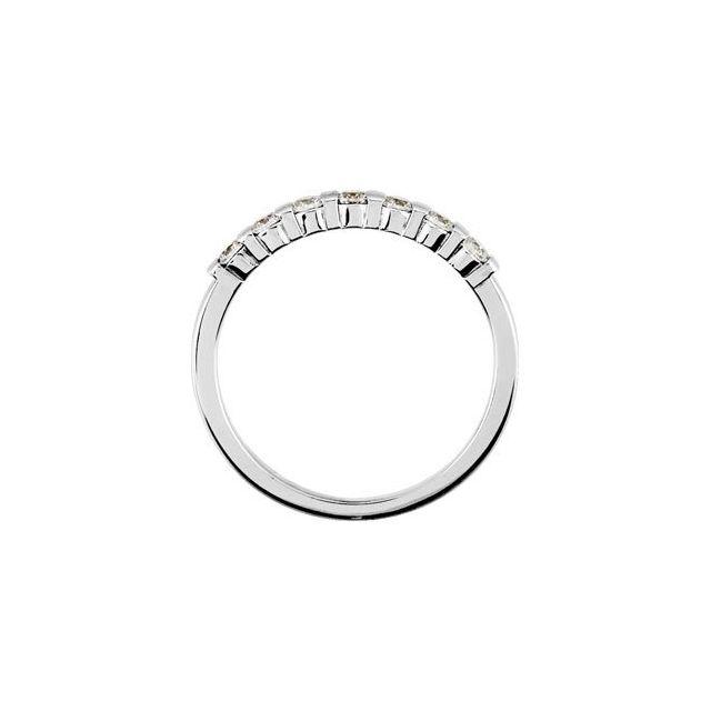 14K White 1/5 CTW  Diamond Anniversary Ring