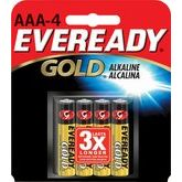 Eveready Pack Of 4 AAA Batteries