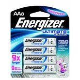 Energizer Pack Of 8 AA Batteries