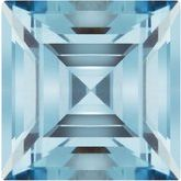 Square Imitation Aquamarine