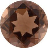 Round Genuine Smoky Quartz