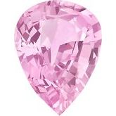 Pear Genuine Pink Sapphire