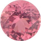Round Genuine Pink Spinel
