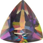Trillion Genuine Green Mystic Topaz