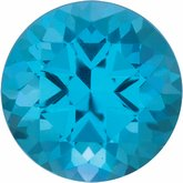Round SWAROVSKI GEMSTONES™ Genuine Paraiba-Color Topaz