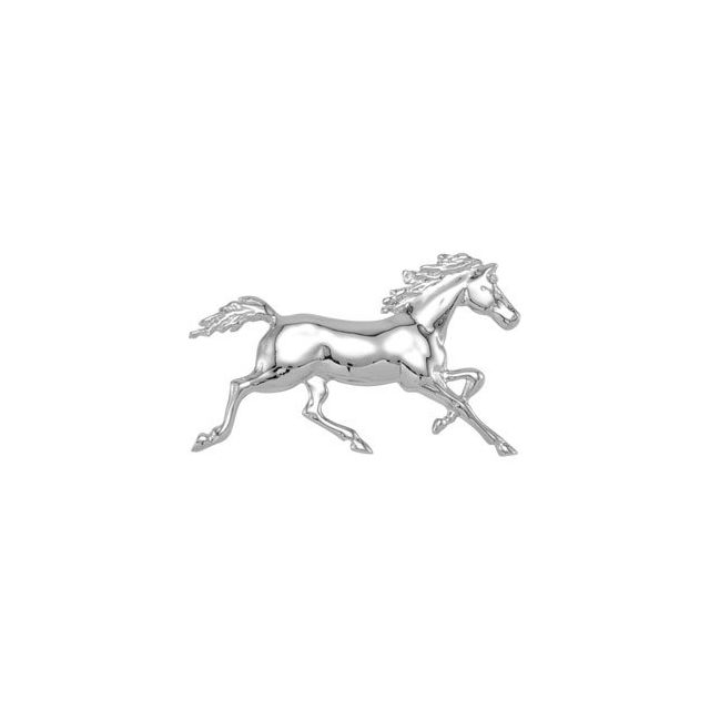 Standardbred Trotter with Full Mane & Tail