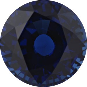 Sapphire Round 2.05 carat Blue Photo