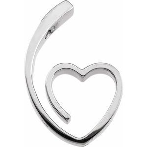 Heart Slide Pendant