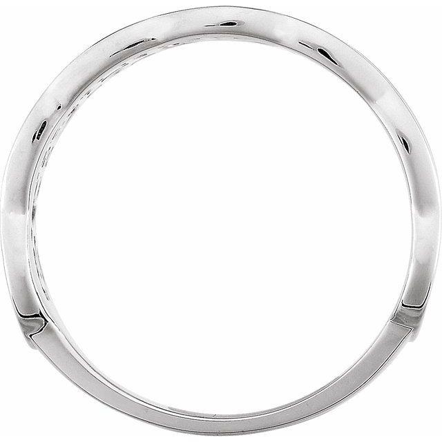 14K White Freeform Remount Ring