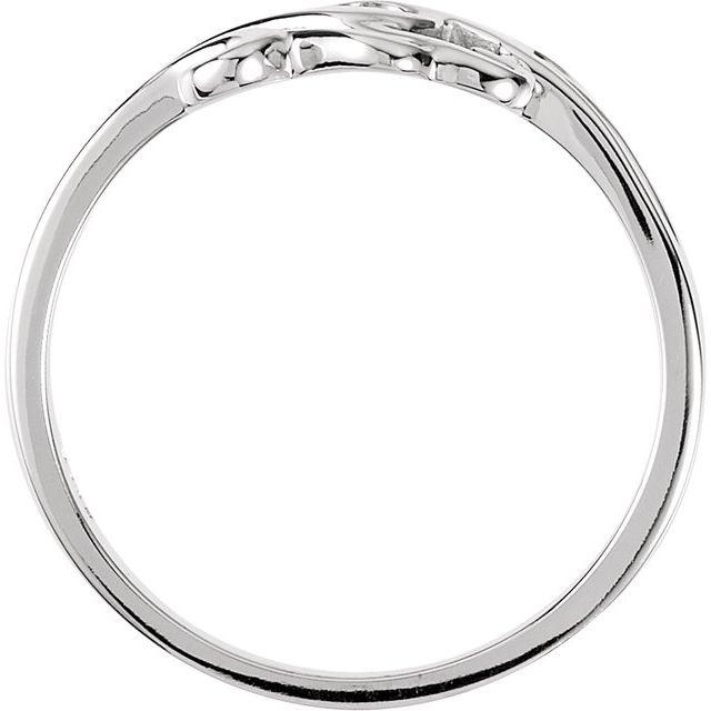 14K Rose Freeform Remount Ring