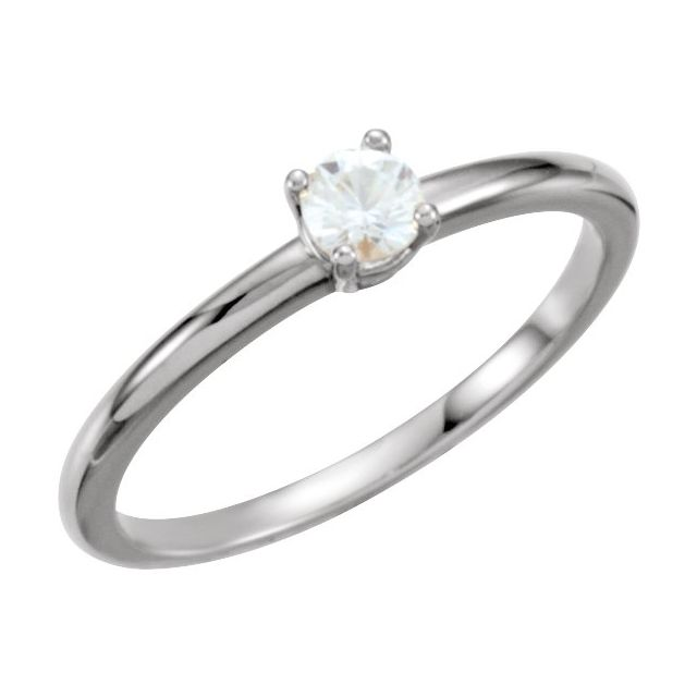 Sterling Silver Imitation Diamond