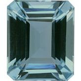 Emerald/Octagon Genuine Aquamarine (Notable Gems™)