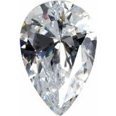 Pear White Cubic Zirconia