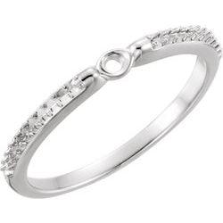 Zásnubný prsteň s postrannými kameňmi alebo Base