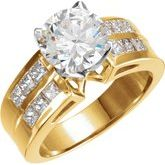 Tulipset® Engagement Ring