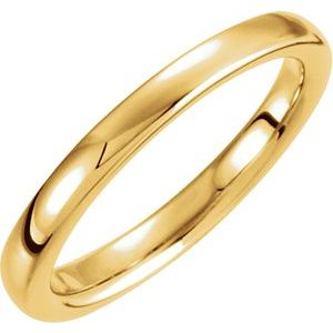 14K Yellow Solstice Solitaire® #10=.75-1.25 CT Tapered Bombé Matching Band