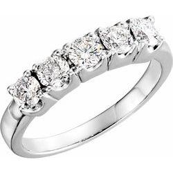 5-Stone Anniversary Ring Mounting