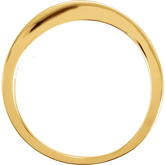 14K Yellow Stackable Ring